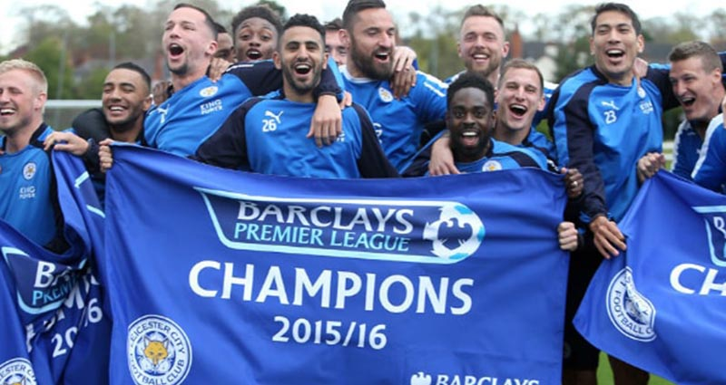 Leicester City Upset The Odds To Win Premier League Title