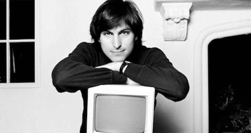 Steve Jobs With First imac
