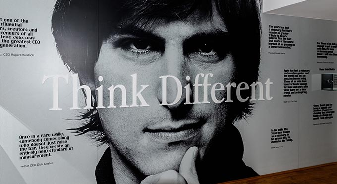 Think Different: Steve Jobs
