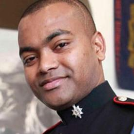 Lance Corporal Johnson Beharry VC