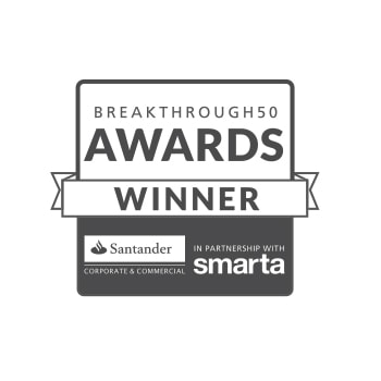 Breakthrough 50 awards winner